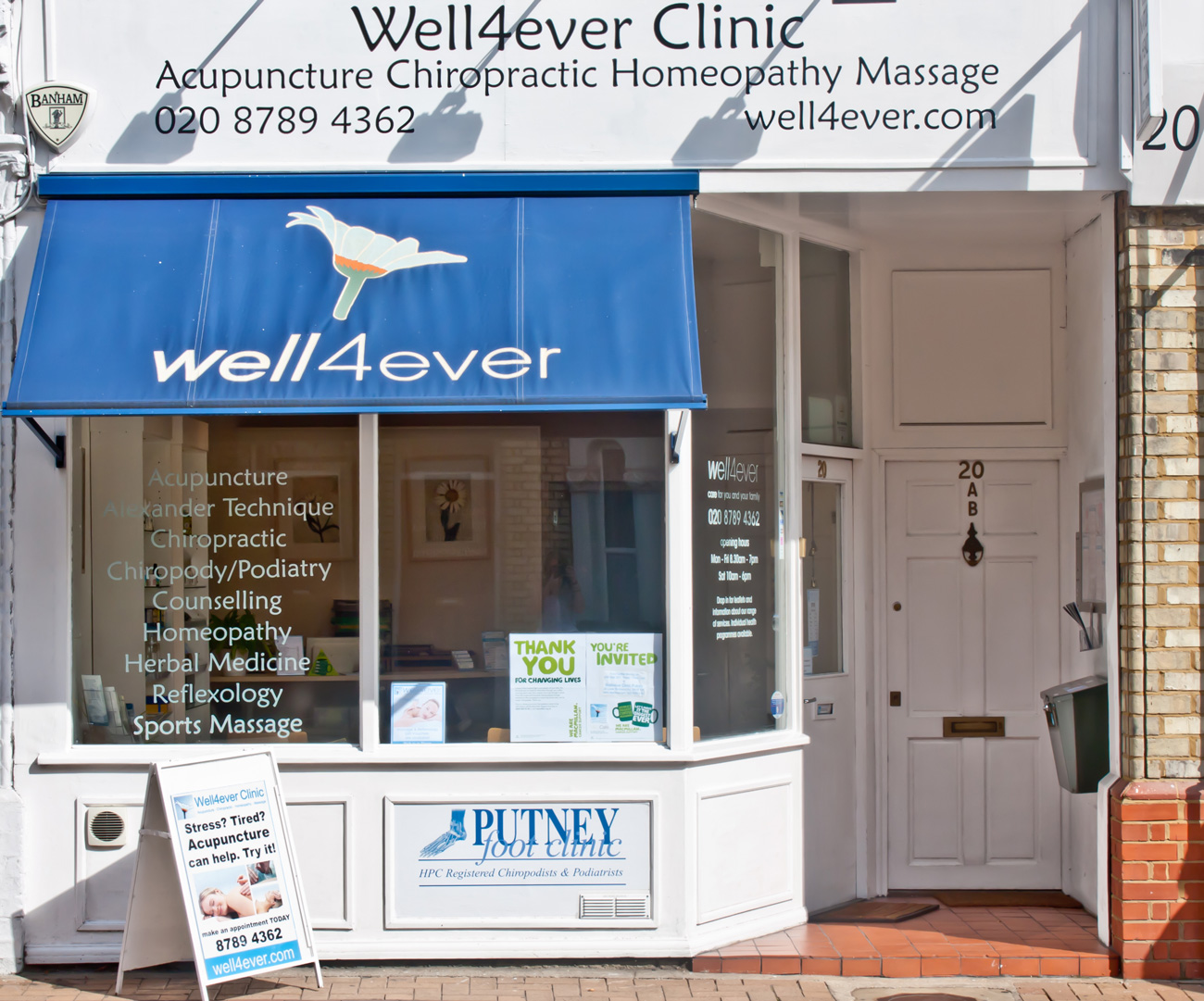 well4ever_clinic_putney_shopfront