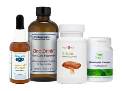 Vitamins, Fungi & Supplements
